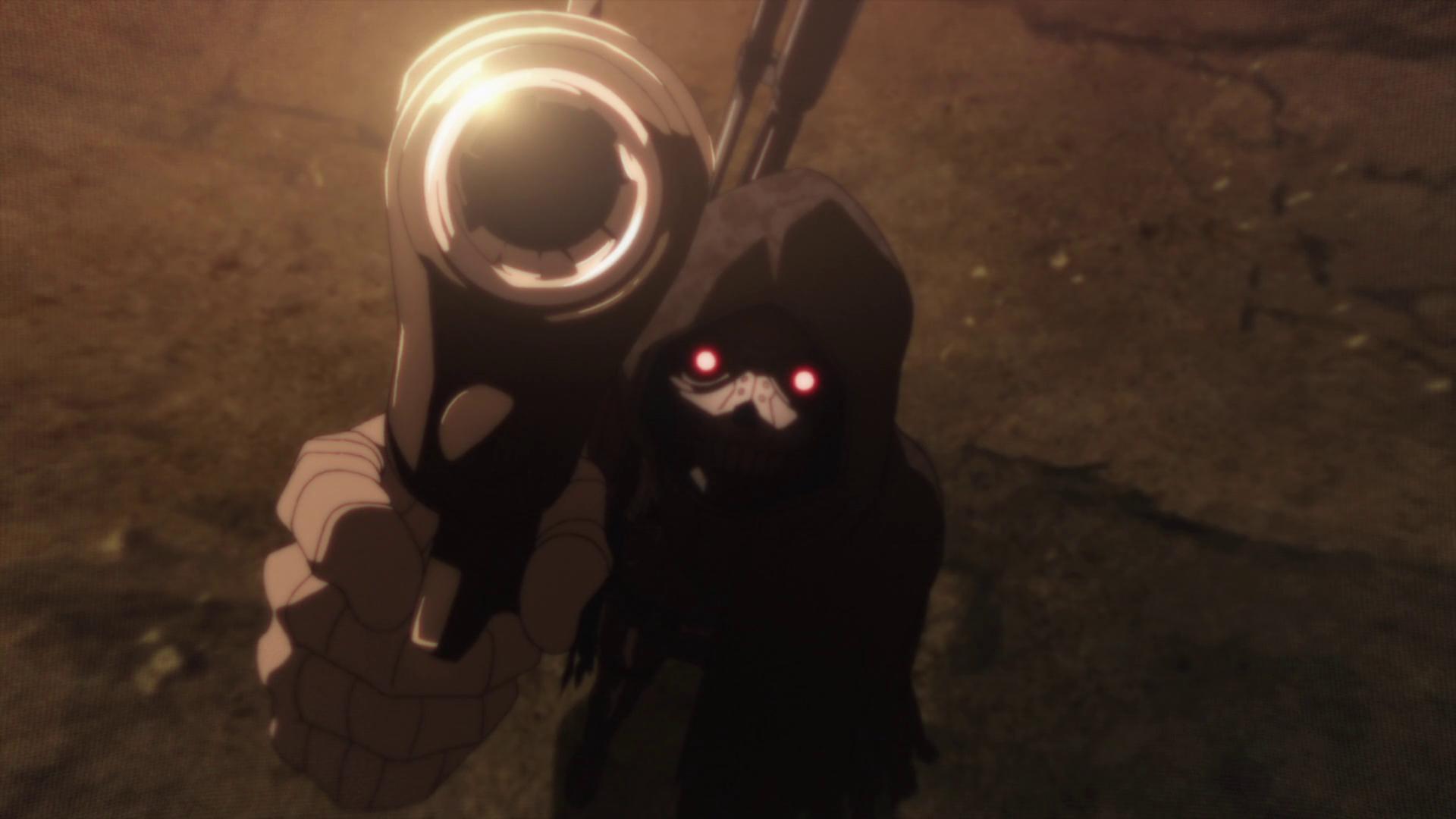 Image - Death Gun threatening the audience.png   Sword Art ...