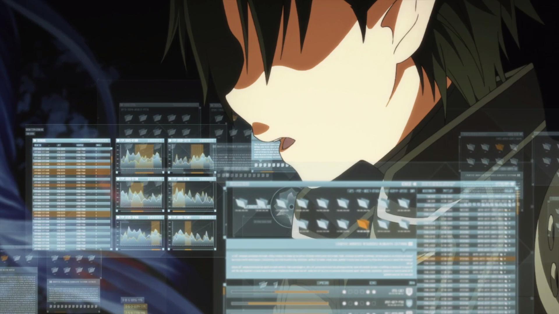 Kirito using the admin ui