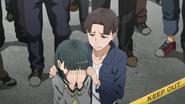 Kirito imagining Suguha and Midori in episode 1