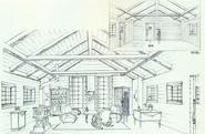 Forest House K4 (inside) design art