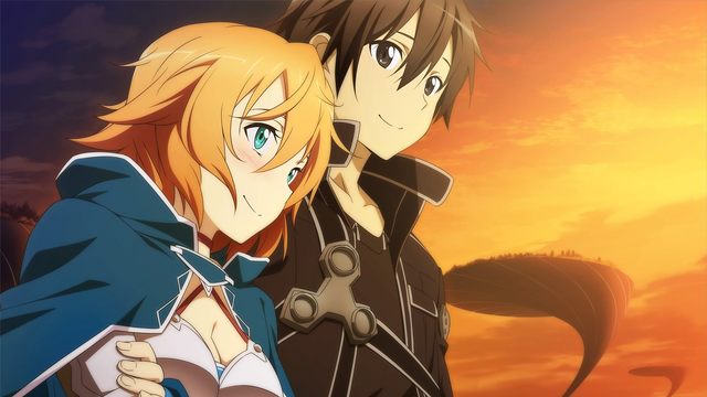 File:Philia and Kirito watching the sunset.png