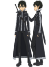 Kirito's New ALO Avatar Full Body