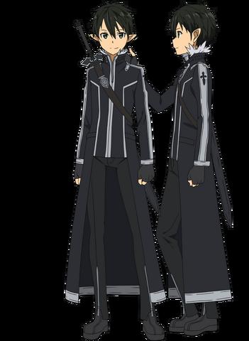 File:Kirito's New ALO Avatar Full Body.png