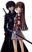 Web Kirito and Asuna