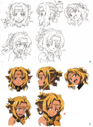 Alicia Rue face Design Works artbook
