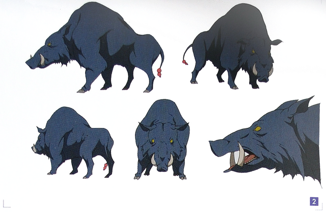 File:Design Works Monsters Frenzy Boar Coloured.png