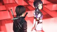 Kirito and Sachi HF