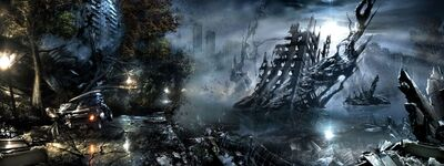 Destroyed City of Inhaven