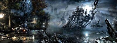 Destroyed City of Inhaven