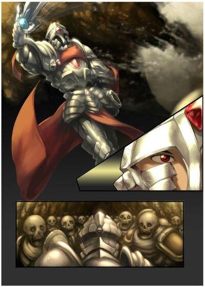 Silver Warden - manga