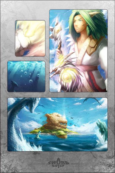 Sigil of Dragon Command Manga