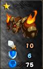 Burning armor
