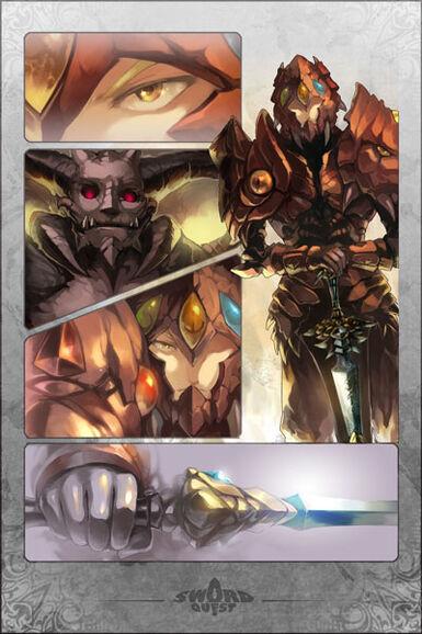 Legacy, Sword of Heroes Manga