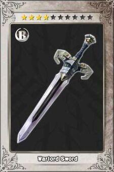 Warlord Sword New