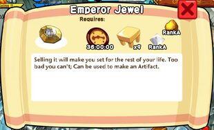 Emperor Jewel Text