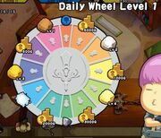Daily Wheel Level 1