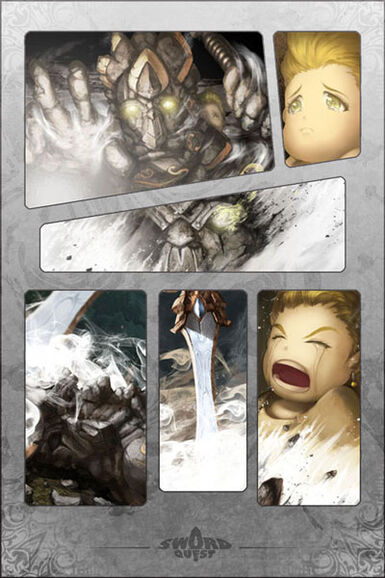 Colossus Blade Manga