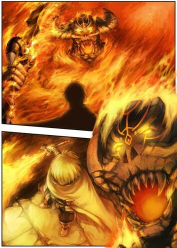 Hellfire - manga