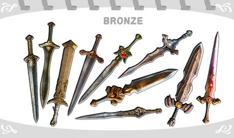 Espadas de Bronze