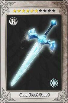Deep Frost Sword New
