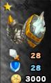 Platinum Champion Armor Arena Icon