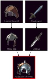 ResearchTree Gladiators helmet