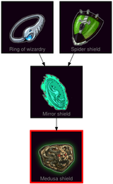 ResearchTree Medusa shield