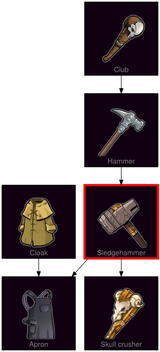 ResearchTree Sledgehammer