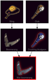 ResearchTree War boomerang
