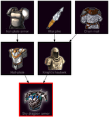 ResearchTree Sky dragoon armor