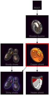 ResearchTree Copper shield