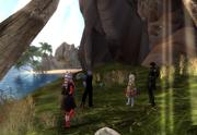 Daana, Rakiko, Lanya and Cayce