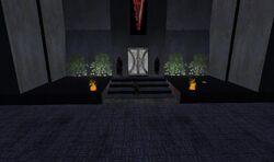 Dark force temple