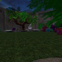 Anzat Spaceport Garden Open Area
