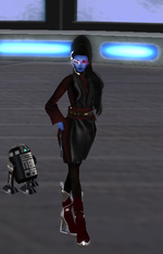 Kyanduso as a Sith Acolyte
