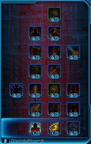 Mercenary Pyroterch Bounty Hunter Skill Tree