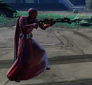 Imperial guard rifle