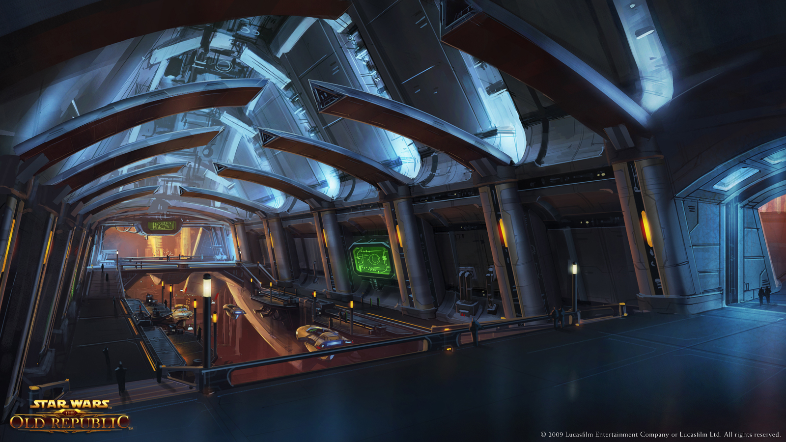 Image - Coruscant-concept03.jpg | Star Wars: The Old Republic Wiki ...
