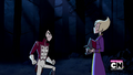 Lance and Ilana fighting in Escape to Sherman High.png