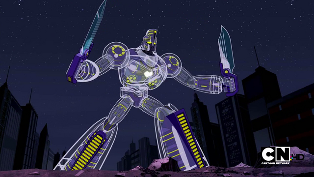File:Sym-Bionic Titan (mech) using swords in Lessons in Love.png