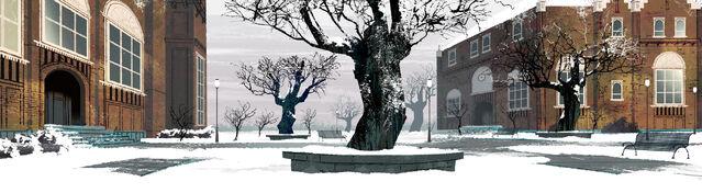 File:Sherman High School - Court Yard - Concept Art.jpg