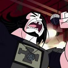 Lead singer for Alien Death Hammer