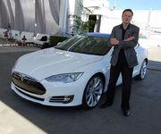 Elon Musk, Tesla Factory, Fremont (CA, USA) (8765031426)