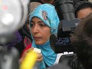 Karman interview across from UN, Oct 18, 2011