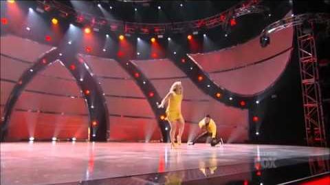 SYTYCD Season 10 - Top 20 Perform - Mariah and Carlos