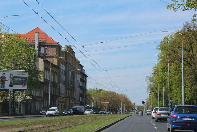 Plik:Wojska Polskiego Avenue in Szczecin (2).JPG
