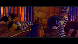 Sly and Tennessee in prison