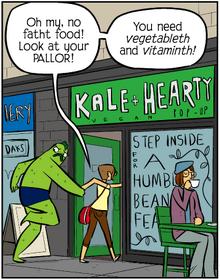 Kale-hearty