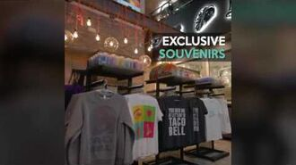 The Taco Bell Cantina on the Las Vegas Strip