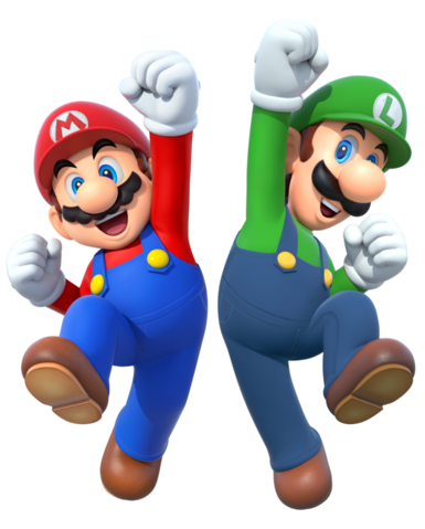 File:Mario and luigi 2015 render by banjo2015-d8wqk9h.png
